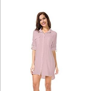 NWT shirt dress